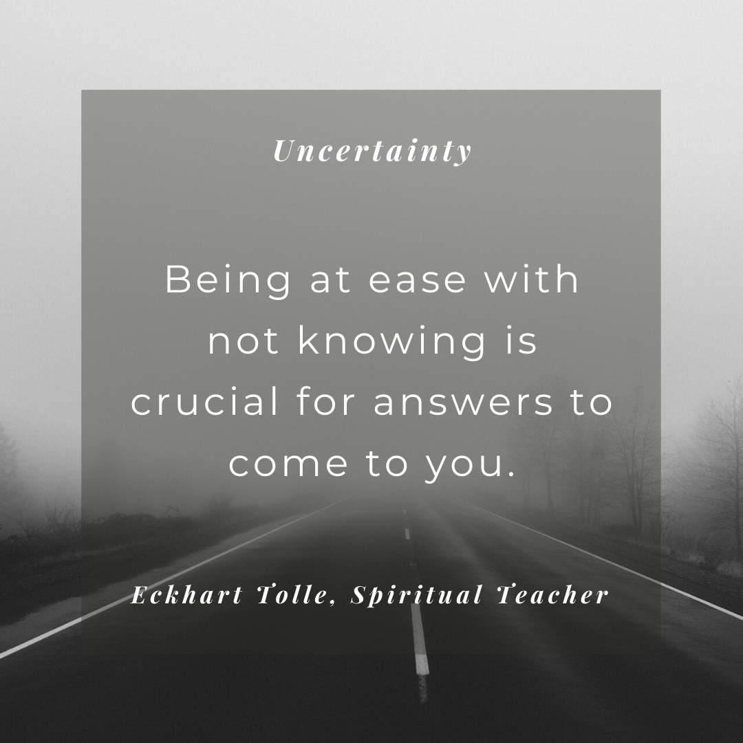 About Uncertainty