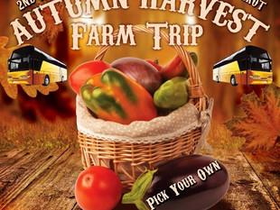 2nd Annual Family Autumn Harvest Farm Trip