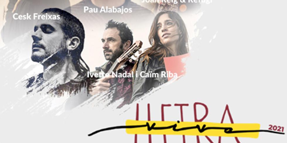 Concert de Cesk Freixas - Festival Lletra Viva