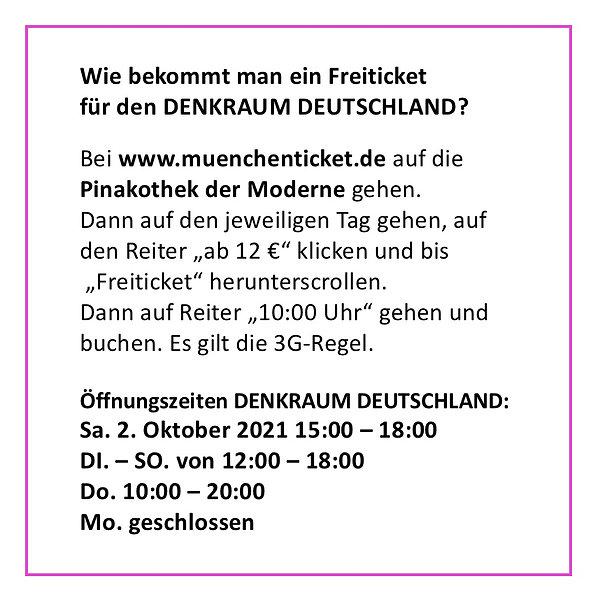 Denkraum Deutschland
