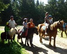 balade à poney aux estables pour toute la famille
