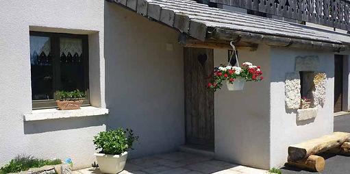 gite la porte du chardonnet aux estables, en rez-de-jardin