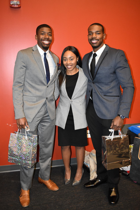 Highlighted Students; Colby Cornell, Ariel Chavis, Host; Quincy Dickens