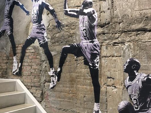 Azioni sulle scarpe di Michael Jordan