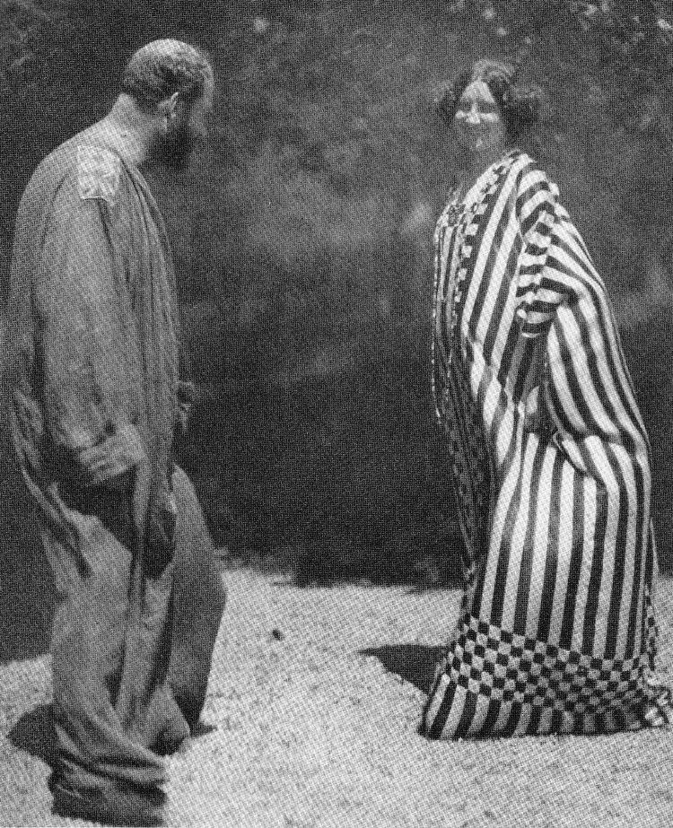 Klimt e la compagna Emile Floge