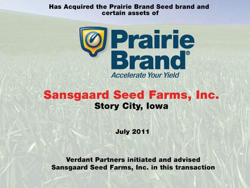 Prairie Brand Seed