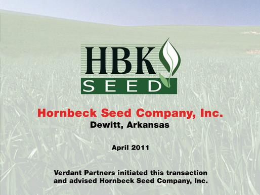 Hornbeck Seed Company