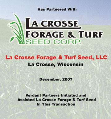 La Crosse Forage & Turf