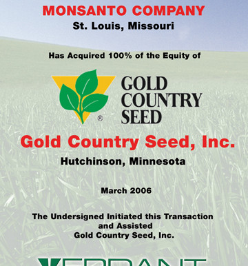 Gold Country Seed