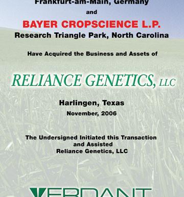 Reliance Genetics