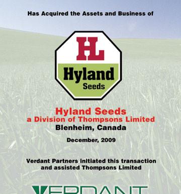 Hyland Seeds
