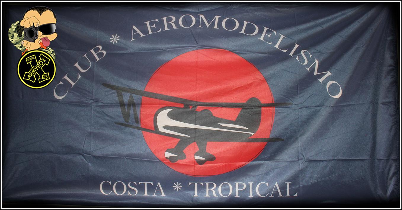 Bandera aeromodelismo
