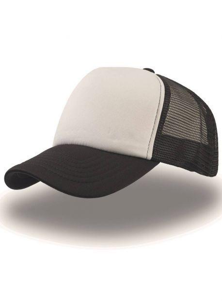 Gorra blanca/negro
