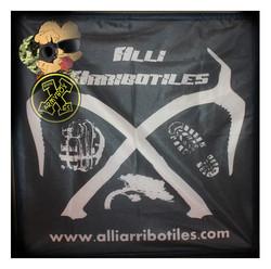 Bandera personalizada alliarribotiles