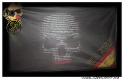 Bandera personalizada airsoft GOA