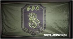 Bandera airsoft GDK