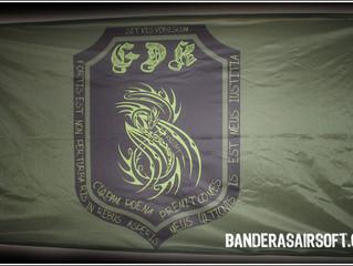 Banderas airsoft GDK