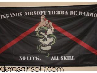 Banderas airsoft para Tierra de Barros