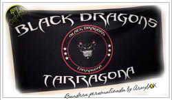 Bandera personalizada Black Dragons
