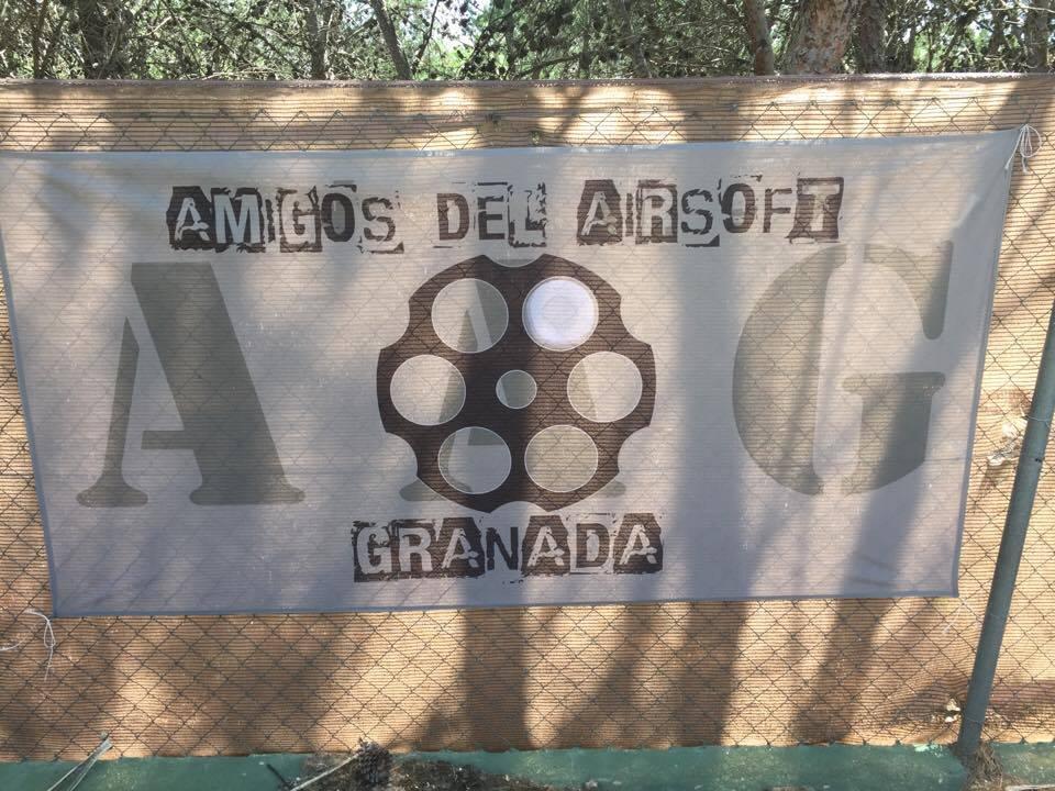 Banderas personalizadas amigos airsoft granada