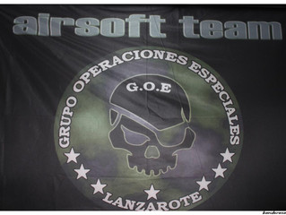 Bandera airsoft Lanzarote