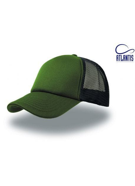 Gorra verde/negra