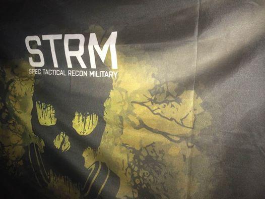 Bandera personalizada STRM