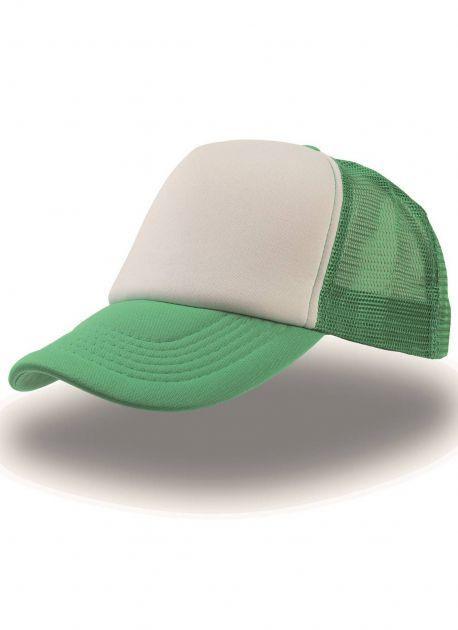 Gorra verde/blanca