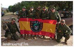 Bandera personalizada Centauro COAS