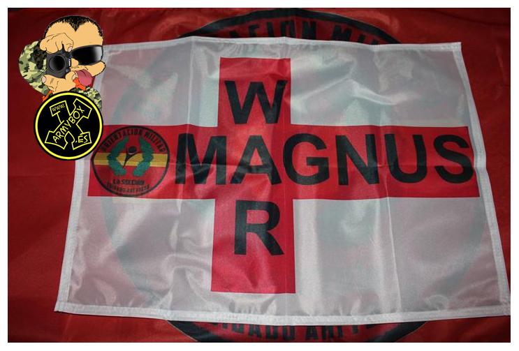 Bandera personalizada MAGNUS