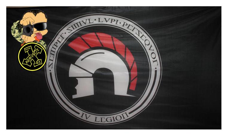 Bandera de 2 metros IV Legion (1)