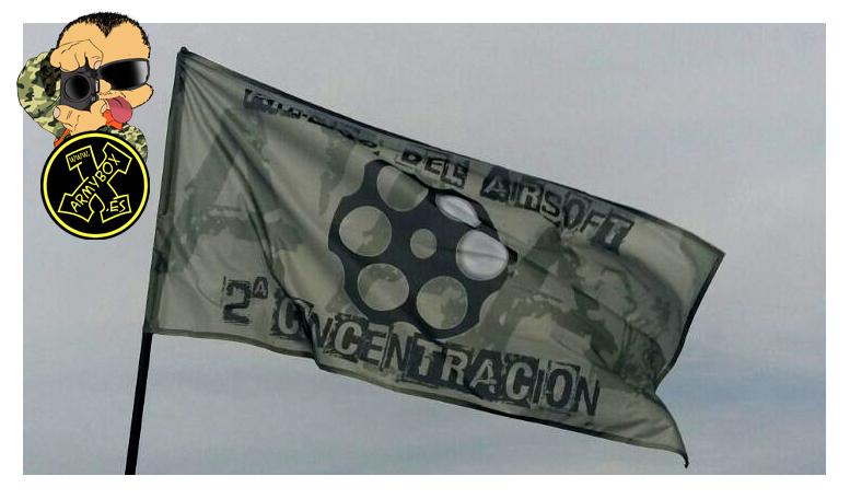Bandera personalizada AA
