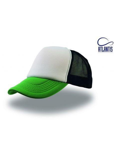Gorra verde/blanca/negra