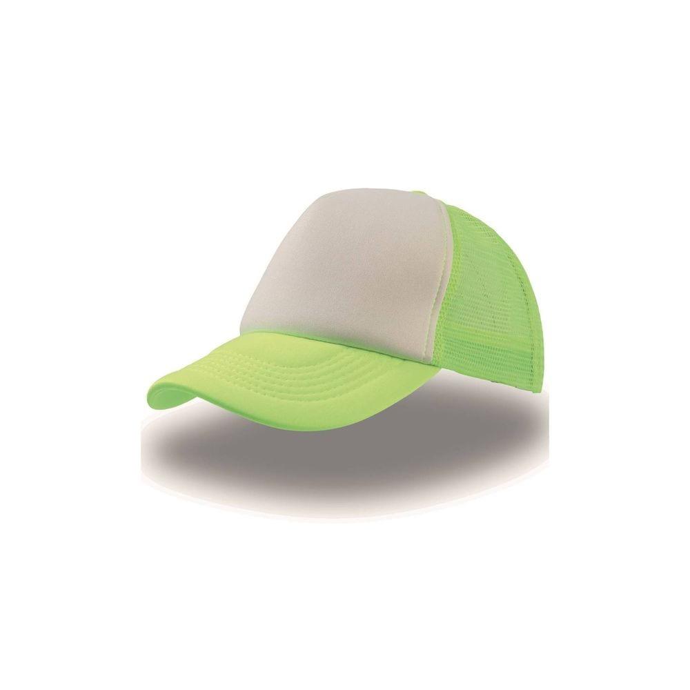 Gorra verde-blanca