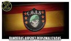 Bandera airsoft personalizada