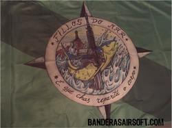 Bandera dibujo hecho a mano