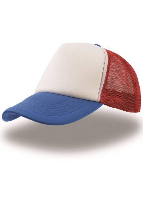 Gorra azul/roja