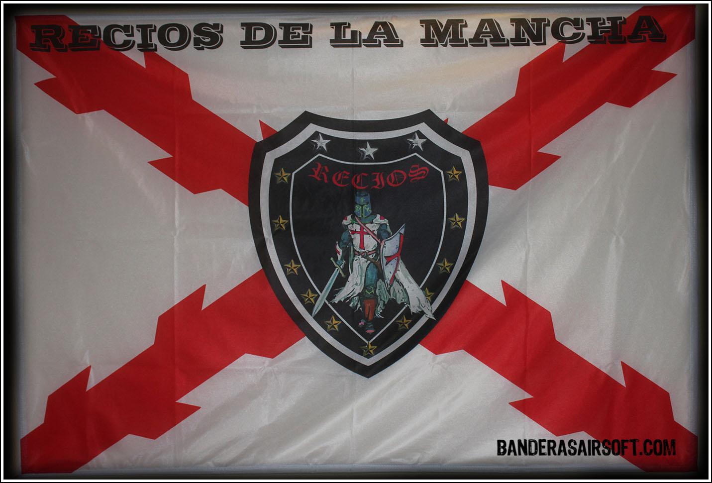 Bandera airsoft recios