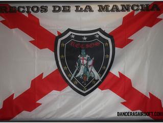 Bandera para equipo airsoft Recios