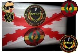 Bandera personalizada airsoft