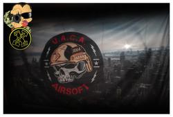 Bandera personaliza airsoft UACA