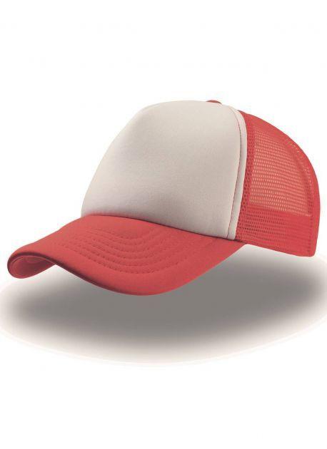 Gorra roja/blanca