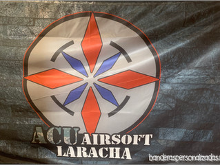 Bandera 2x1 ACU Airsoft