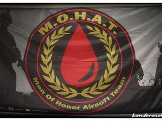 Bandera personalizada  MOHAT