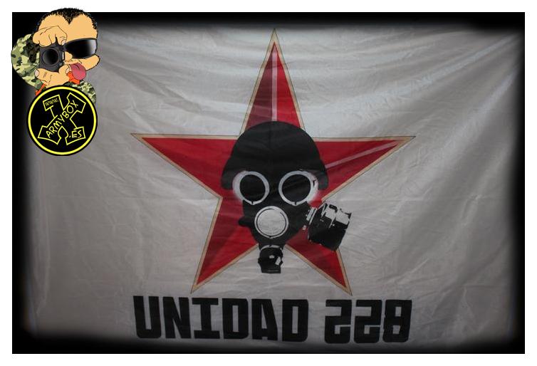 Bandera gran formato 228