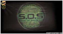 Bandera personalizada SOS