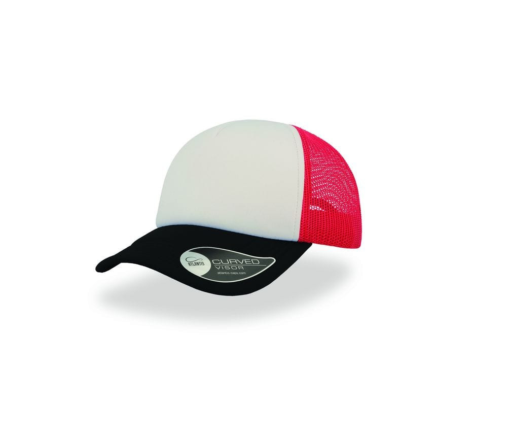 Gorra negro/blanco/rojo