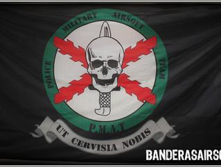 Bandera airsoft P.M.A.T