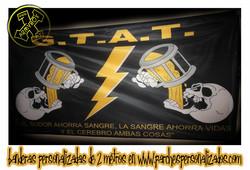Bandera airsoft personalizada GTAT
