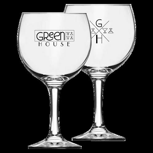 Taça de Vidro Personalizada Modelo Gin 600ml